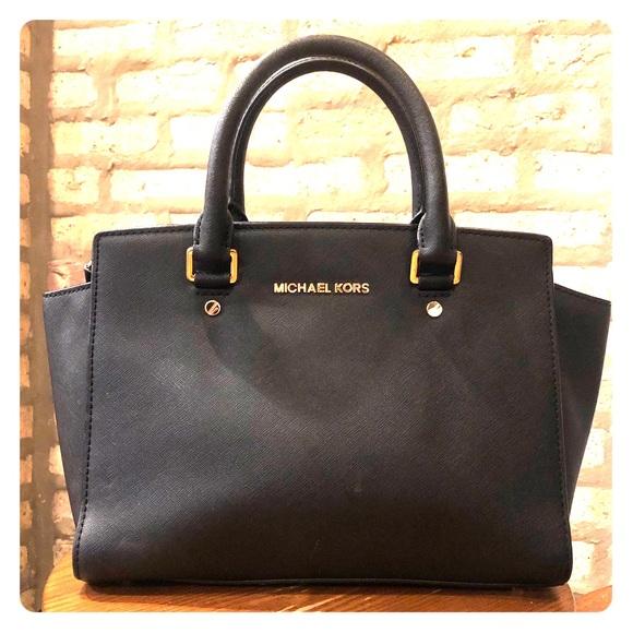 e141d036b4ce Michael Kors Bags   Selma Medium Leather Satchel   Poshmark